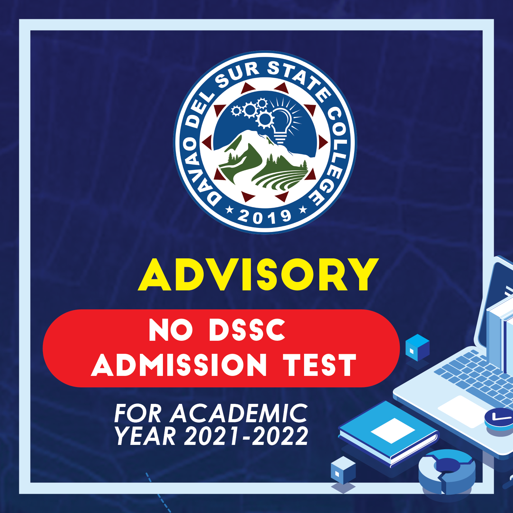 DSSC-Admission for School Year 2021-2022
